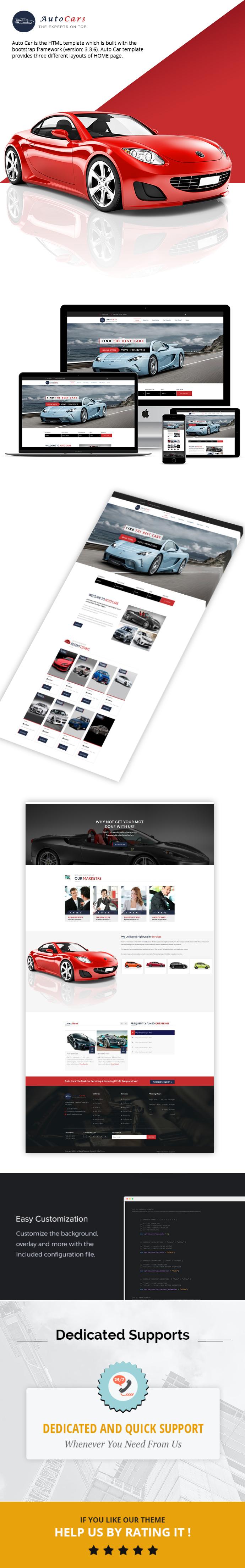 AutoCars – Car Dealer HTML Template theme