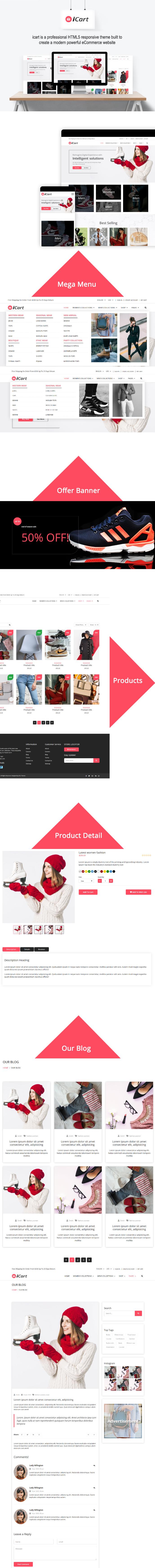 iCart – Shopify Responsive Theme theme