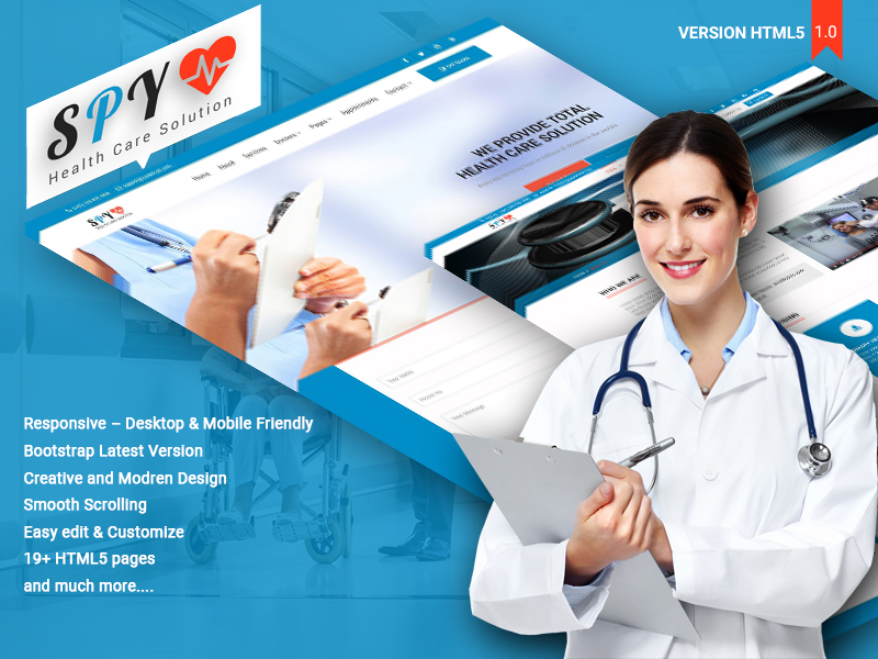 SPY Medical – HTML5 Theme theme